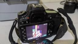 Título do anúncio: Câmera Nikon d600 semi nova ( oportunidade )