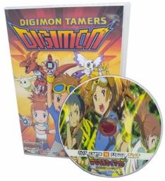 Box Dvd Anime Digimon 3 Tamers Dublado Completo