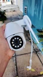 Câmera Wifi Dome 1080p HD 4x Zoom Prova De àgua