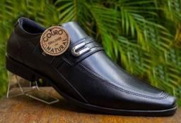 Sapato Social Couro Legítimo Preto Ferracini