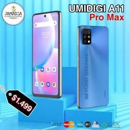 Título do anúncio: Umidigi A11 Pro Max 4GB RAM + 128GB ( 12x Sem juros )