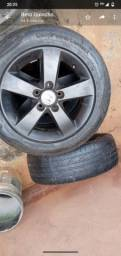 Roda Honda Civic aro 16 com pneu