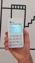 Maquininha livre de celular com 3g incluso  cartãoleitor pronta entrega
