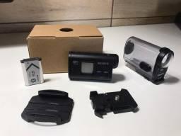 câmera de ação sony action HDR-AS20