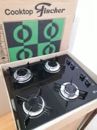 Cooktop Fischer (pouco uso) na caixa.