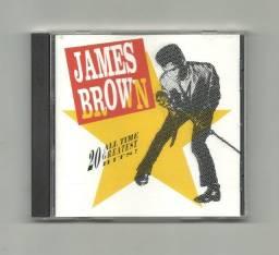 Título do anúncio: CD - James Brown - 20 all time greatest hits - Usado