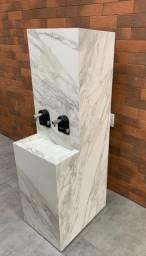 Bebedouro Esculpido em Porcelanato A partir R$ 2.999,90 A vista - Amo Casa Acabamentos
