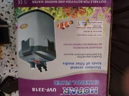 Filtro Canister Hopar 3318 1800H  com filtro UV - 9w
