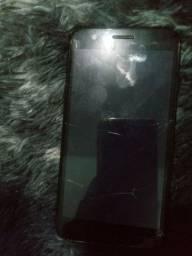 Título do anúncio: Lg k10 16 gigas e j2 8 gigas precisam troca a tela vendo ou troco em um celular