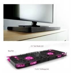 Título do anúncio: Vendo ou Troco Home Theater LG Lap340 4.1 120w Bluetooth Com 2 Woofers