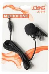 Título do anúncio: Microfone Lapela Mini P2 3.5mm Stereo Microfone Para Usar no Celular Novo na Embalagem