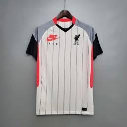 Camisa Nike Liverpool Air Max 2021 Masculina