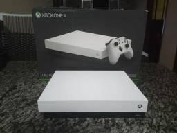 Xbox one X Branco  LEIA A DESCRICÃO