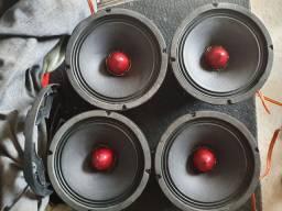 Alto falantes Pionner 8 Pol ts m800pro 700w