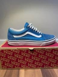 Tênis vans old skool azul