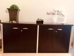 Balcão estante para escritório aparador