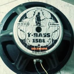 """Auto falante Selenium bass 15"""" 300w"""