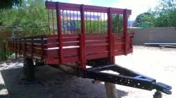 Carreta para Trator em Jequitinhonha - MG
