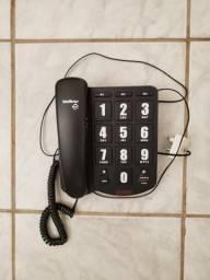 Aparelho de telefone fixo intelbras