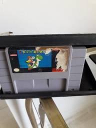 Fita do super Mario original e mais capa de locadora
