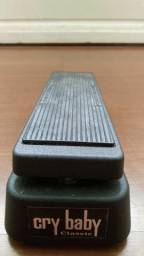 Pedal Wah Dunlop Crybaby Classic com Fasel