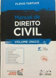 Manual Direito Civil Usado 2018 Flávio Tartuce