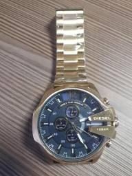 Relógio Diesel 10BAR Dourado ( Novo )