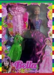 Boneca Bella c/ Acessórios