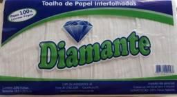 Papel Toalha 100% celulose (1000 folhas)