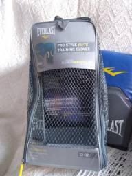 Luva de Box/Muay Thai Everlest Pro Style - azul