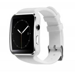 Smartwatch Bluetooth Iphone Android Tela Curvada