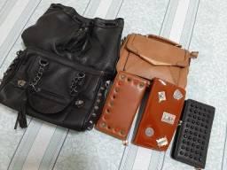 Conjunto de bolsas e carteiras