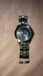 Relógios Tommy branco e um século prata masculino