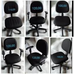 Cadeiras reformadas em perfeito esrado