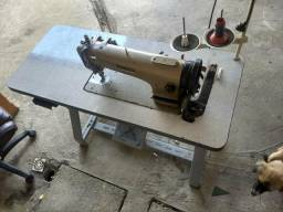 Máquina de costura transporte duplo