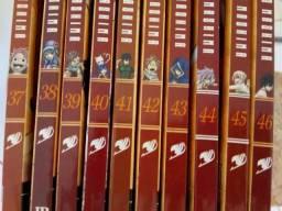 Mangás Fairy Tail volume 38 á 46 em perfeito estado