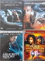 4 DVDs Originais + 18 Filmes R$55,00