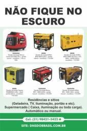 Venda, manutencao e instalacao geradores