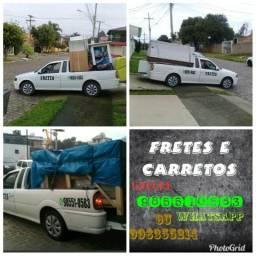 Fretes ACEITAMOS CARTÃO