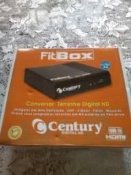 Conversor marca Century - Fitbox.HDMI.Excelente.só 50,00
