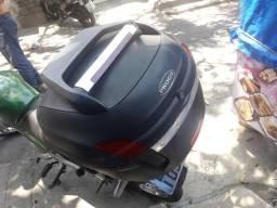 Bau Para Moto Novo Com Bagageiro de 150 fan titan 21430ef05d5