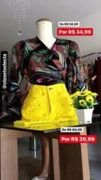 7c4a52d755b1f Blusa Viscose 39,99 short jeans detalhes 39,99