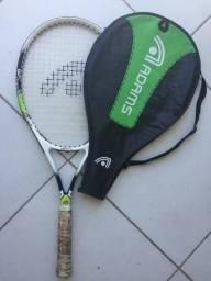 Raquete Tenis em ótimo estado com bolsa