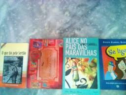 Livros de literatura semi novos