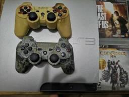 Playstation 3 500g Prata Raro