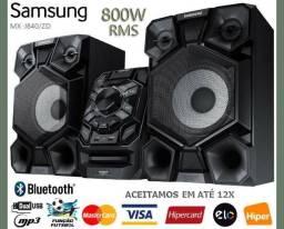 Aceito Cartao Som Samsung Bluetooth 800w RMS