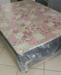 Cama Box Casal com colchão Acoplado novo