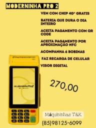 Maquininha Moderninha Pro 2 (Entrega Grátis)