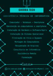 Guerra Tech - Assistência Técnica de Informática