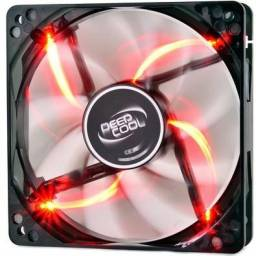 Título do anúncio: Cooler FAN Deepcool Windblade 120mm RED